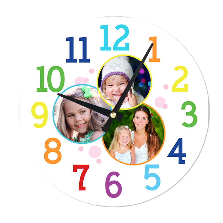 b9e7ef319b Bubble Chroma Clocks   Photobook Singapore   Personalized Clocks ...